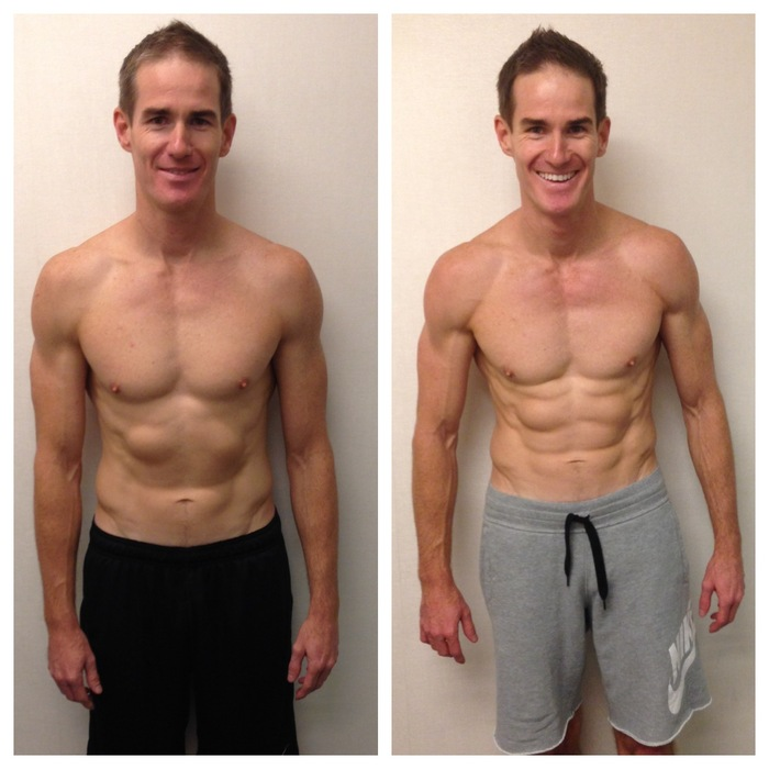 For many years I trained at various gyms with PTs and ate clean, but never achieved the results I desired. That all changed when I met Matt Hall, he understood my physique goals and delivered a transformation in 3 months, through intense structured weight routines and a fine tuned nutritional diet. Matt is engaged from day 1 and is personally invested in your transformation, which is reassuring and he ensures the motivational levels never waiver. I look and feel healthier and this has lifted my confidence and delivered a new lease of life at 42 years. Thanks Matt